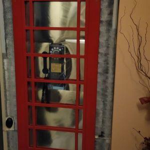 Διακοσμητικό Δαπέδου Αγγλικός Τηλεφωνικός Θάλαμος