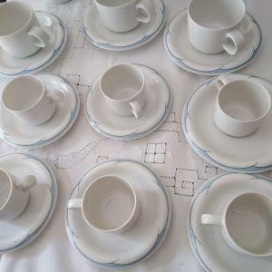 6 φλυτζανακια καφέ πορσελάνη