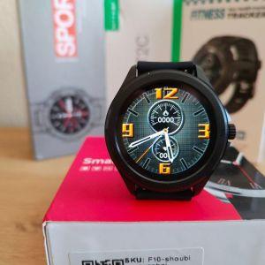 Smartwatch με δυνατότητα κλήσεων BT,Ελληνικό μενού, custom dials (βίντεο στην περιγραφή)