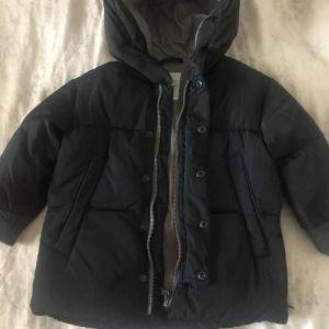 Τζάκετ (μπουφάν) μαύρο παιδικό Zara / Black Down Jacket