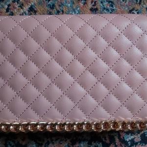 Ροζ τσάντα φάκελος ώμου