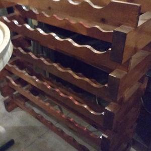 Θήκη κρασιών - wine rack για 48 μπουκάλια