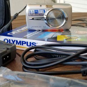 Camera OLYMPUS Mju 600 6.0 MEGAPIXEL Silver