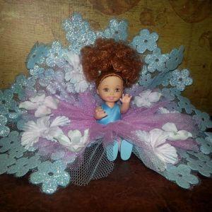 """Κούκλα Barbie Kelly """"Every Girl's Dream Flower Girl Wedding Bouquet"""""""
