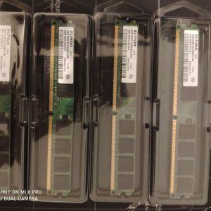 8GB 4x 2GB DDR2 PC2-6400U 800MHz Elpida χαμηλού προφίλ 30 €