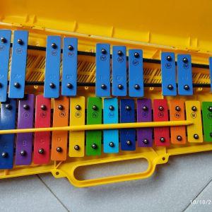 Μεταλλόφωνο Διπλό Angel Music /Glockenspiel AG-25N3 25 Notes
