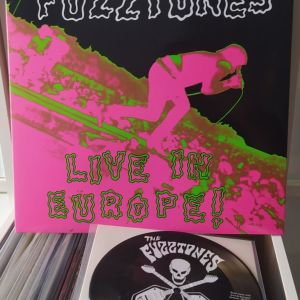 Fuzztones - Live in Europe +7' LP