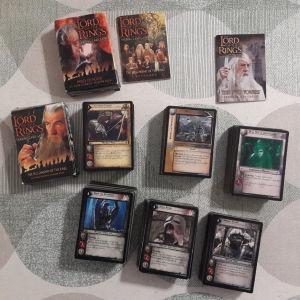 Lord of the Rings TCG - 500 κάρτες και 2 κουτιά!