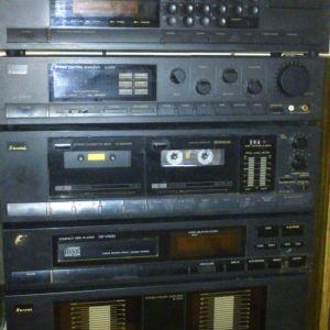 stereo ηχοσύστημα sansui συλλεκτικό