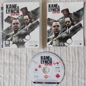 Kane&Lynch Dead Men Kane&Lynch 2 Dog Days Ps3