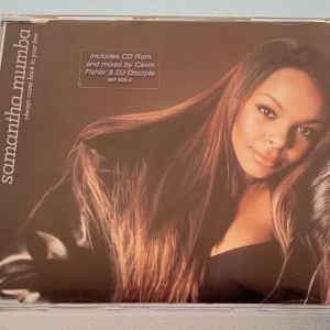 Samantha Mumba - Always come back to your love 4-trk cd single