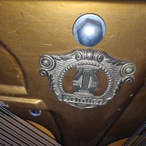1922 J Schiller Berlin Acoustic Upright Piano