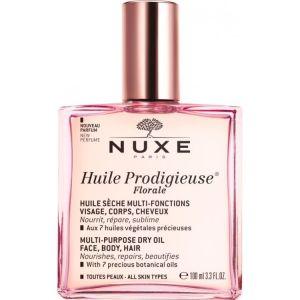 Huile Prodigieuse Florale - Ενυδάτωση & θρέψη (100ml) / Για πρόσωπο, μαλλιά & σώμα