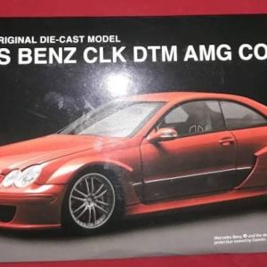 MERCEDES BENZ CLK DTM AMG COUPE / KYOSHO / 1:18 - RED / DIECAST