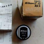 Nikon προσαρμογέας φλάς AS-3 για μηχανή Nikon F3