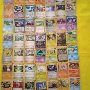 50 κάρτες Πόκεμον πωλούνται όλες μαζί 50 ευρώ