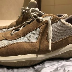 Prada suede sneakers America's cup size 44