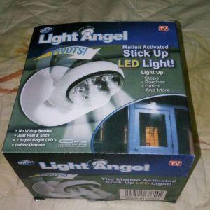 Φως Με Ανιχνευτη Κινησης - Light Angel