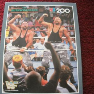 WWF PUZZLE MB 1991