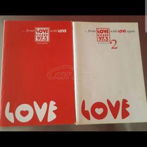 2 Βιβλία Love Radio