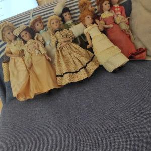 Πορσελάνινες κούκλες μινιατουρα