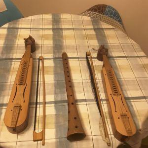 Παραδοσιακα μουσικα οργανα Αντικες