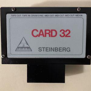 Steinberg CARD 32 για Commodore 64