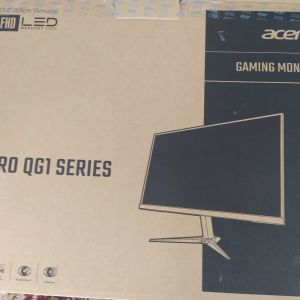 """Πωλείται monitor Acer Nitro QG271 27"""" VA 1ms με 4ετης εγγύηση Κωτσόβολου ολοκαίνουργια"""