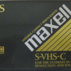 MAXELL S-VHS-C XRS-30