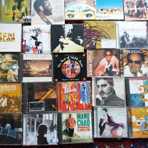 World Music cd collection (29cd)