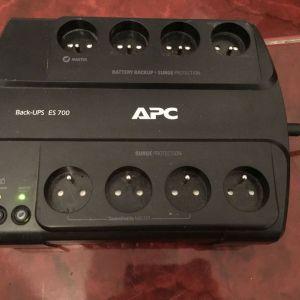Εφεδρική μπαταρία APC συν προστασία από υπέρταση ES700