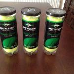 (3 ) Μπαλάκια τέννις (κοvσέρβα 3 μπαλών) DUNLOP