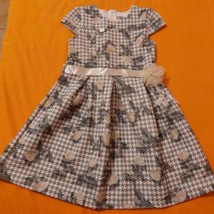 Παιδικό φόρεμα Εβίτα χειμερινό