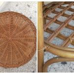 τραπέζι στρογγυλό μπαμπού