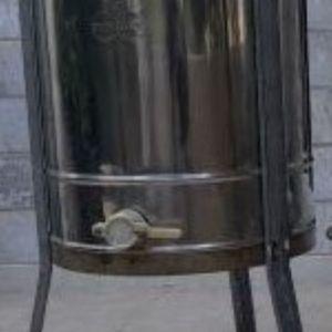 Μελιτοεξαγωγέας ΙΝΟΧ, 3 Πλαισίων Χειροκίνητος (ΓΕΩΡΓΑΚΗ)