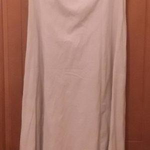 Φόρεμα μακρύ εκρού