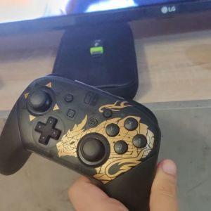 Nintendo switch limited edition monster hunter