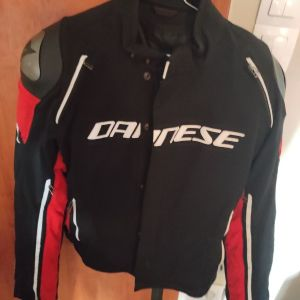 Dainese Racing 3 D-Dry Black/Black/Red