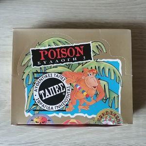 ΤΑΠΕΣ Ψιλικό (Ψιλικοκό) - κουτάκι με 144 τάπες Poison Συλλογή 3