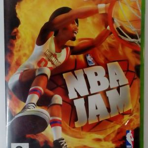 NBA JAM XBOX EUROPEAN PAL SEALED BRAND NEW