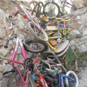 αφτιαχτο παιδικο ποδηλατο