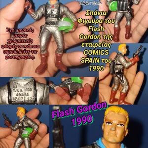 Flash Gordon Comic Spain PVC figure 1990 RARE φιγούρα Φλάς Γκόρντον Διάστημα