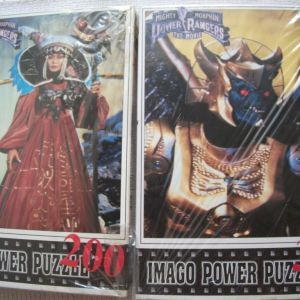 POWER RANGERS MIGHTY MORHIN THE MOVIE PUZZLES-IMAGO 1995