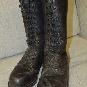 Δερμάτινες USA μπότες ''LINESMAN-BOOTS'' Νο44-45 δεκαετίας 1960-1970 (άριστη κατάσταση).