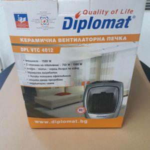 Πωλειται αεροθερμο DIPLOMAT DPL VTC 4012 1500W