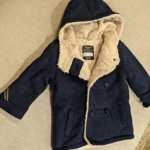 Παλτό μπλε σκούρο Mayoral Bebe 12m