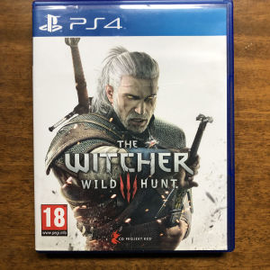 PS4 The Witcher wild hunt