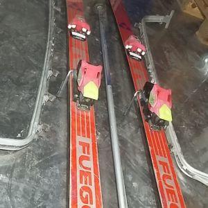 Πέδιλα σκι χιονιού Fischer Fuego 160 / Art. 351 Onorm S4050 Rossignol Tyrolia 540