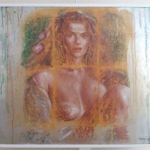 Έργο τέχνης του γνωστού καλλιτέχνη Κούτρικας Γιάννης.
