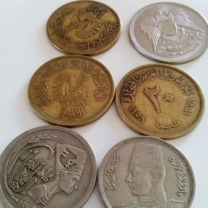 6 κερματα Αιγυπτου